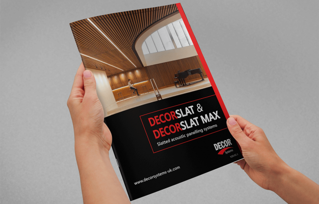 Decor System Brochure Cover