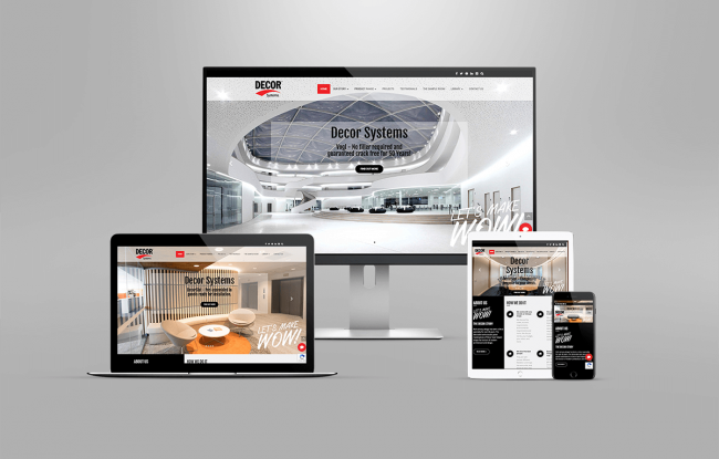 Decor System Website