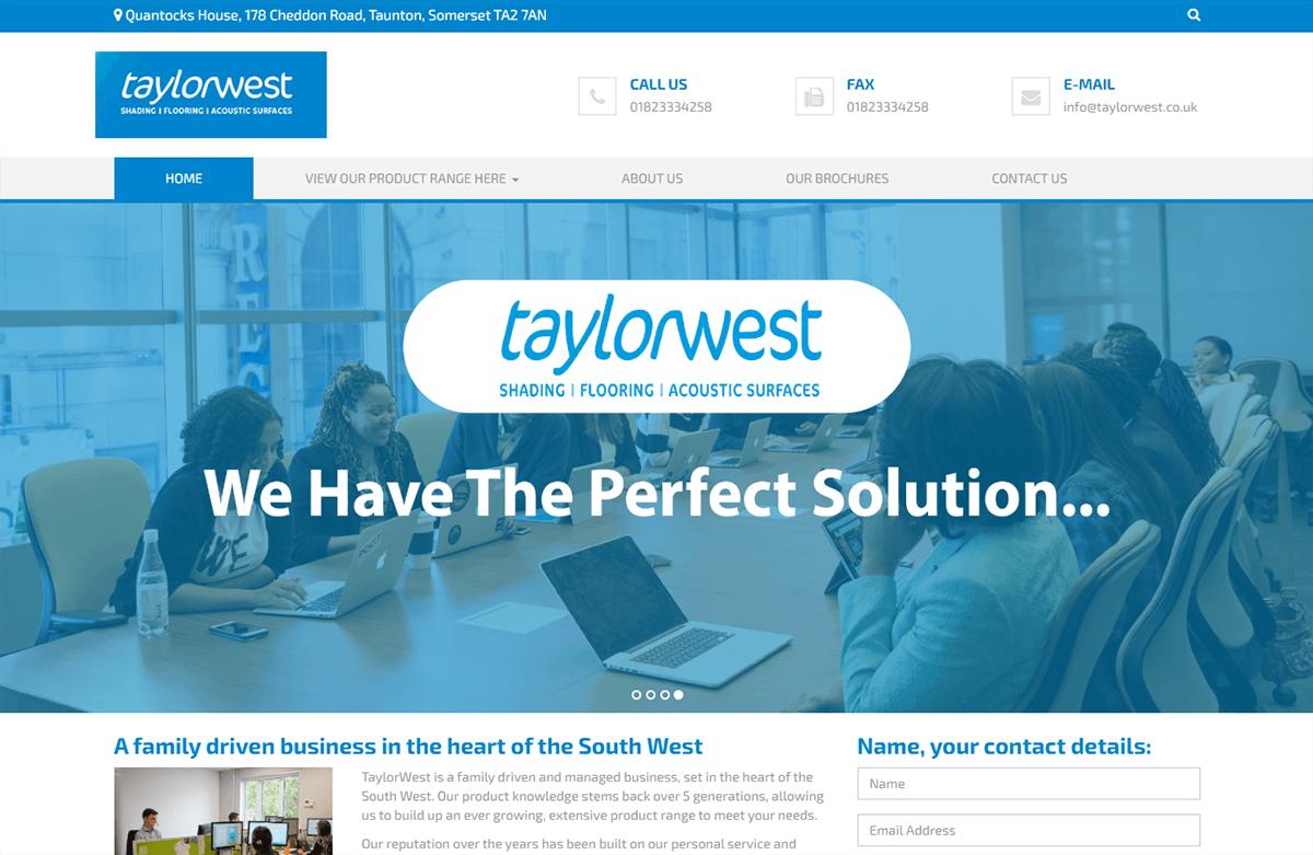 Taylorwest Header