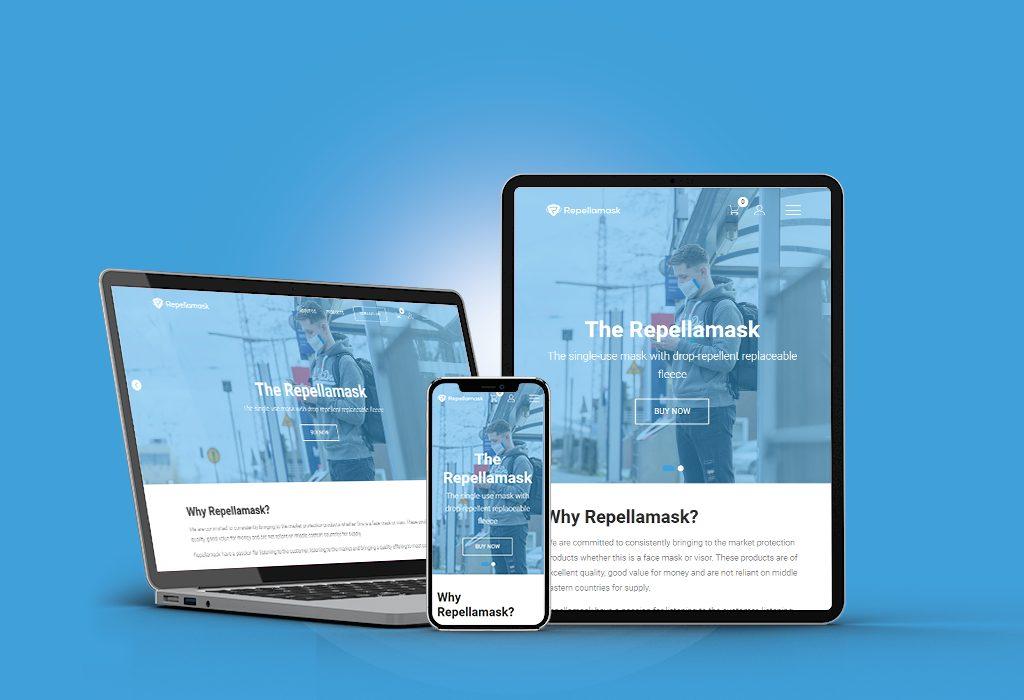 Repellamask Website 1